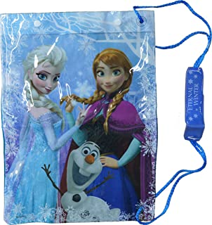 dd4652aa42 PERLETTI Disney Frozen Drawstring Sac for Little Girls - Swim Gym ...