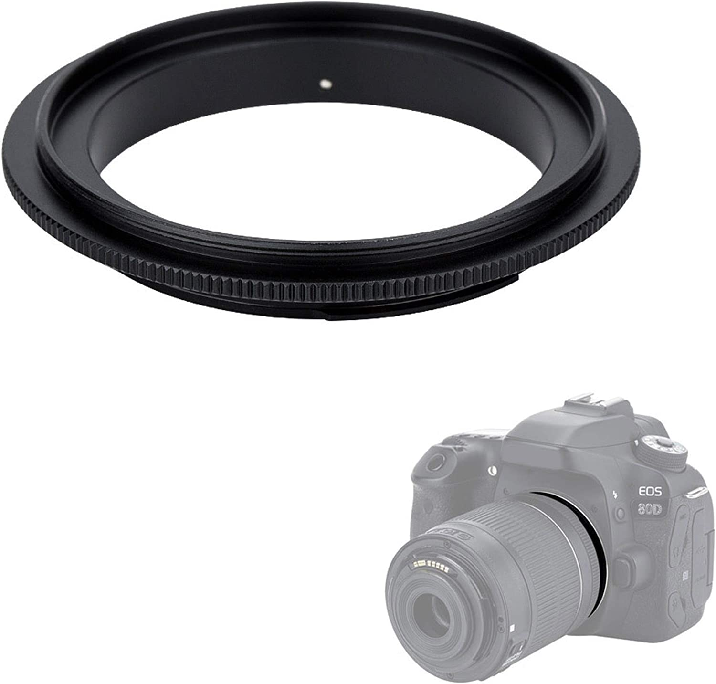 49 52 55 58 62 67mm Ring adapter For Canon Nikon DSLR JJC Macro Ring LED Light