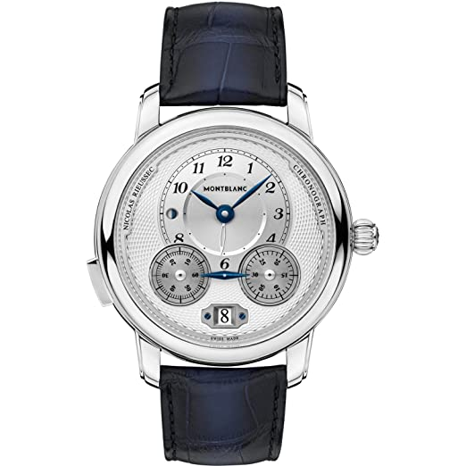 08f875cabc4 Montblanc Star Legacy Collection/Nicolas Rieussec Chronograph ref. 118537:  Amazon.co.uk: Watches