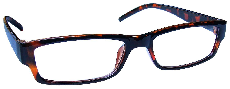 2d2db1e6f3 Brown Tortoiseshell Near Short Sighted Distance Glasses Myopia Mens Womens  Lightweight Comfortable M32-2 -1.00  Amazon.co.uk  Health   Personal Care