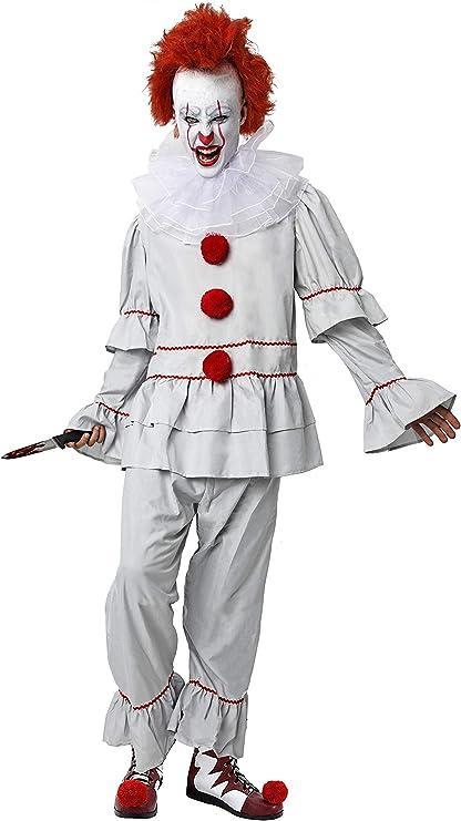Gojoy Shop-Disfraz de It Payaso Asesino para Adulto Halloween ...