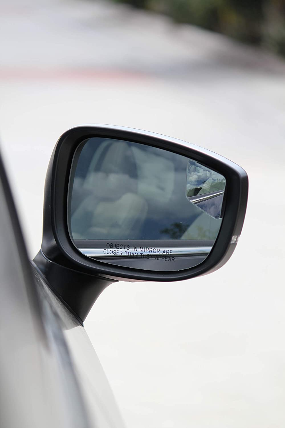 Rhombus 4 Blindspot Mirror by Safe View Company 2 Pack 63x50mm Convex Mirror Seamlessly Contours to Your Cars Side Mirror Frameless Design Safer Lane Changes Easy Installation HD Glass