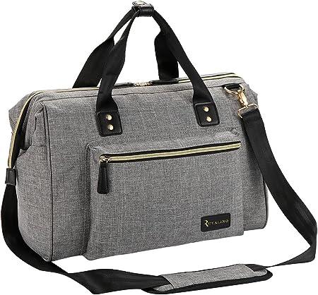 Elegante para ambos sexos: la bolsa de pañales para bebés tiene alta moda y altas calificaciones de
