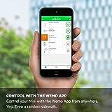 Wemo Mini Smart Plug, Wi-Fi Enabled, Compatible