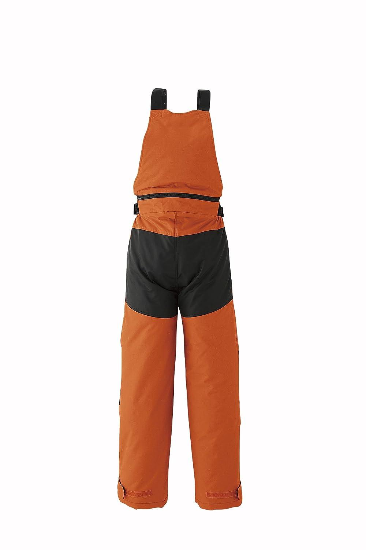 【旭蝶繊維】ASAHICHO 防寒着 極寒サロペット (51003) 【M~4Lサイズ展開】 B015GMMVAI LL オレンジ オレンジ LL