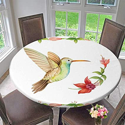 amazon com mikihome elasticized table cover hummingbird ing over a rh amazon com elasticated table cover waterproof elasticized table cover rectangle