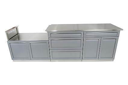 Amazon 4 Life Outdoor G40029 Kitchen Cabinet 4 Piece Set 106