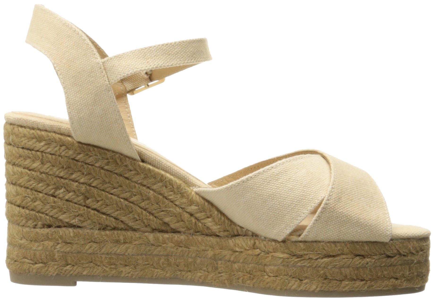 Castaner Women's Blaudell Platform Sandal, Nude (Beige), 37 EU/6.5 N US by Castaner (Image #7)