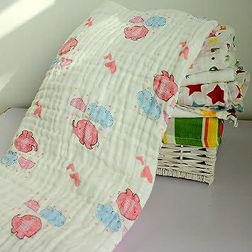 Algodón suave, Stillshine - Baby Shower Regalos Baño toallas con gancho Reutilizables bebés recién nacidos toallas para la piel sensible (Estilo 9): ...