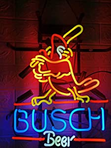 LDGJ Neon Signs for Wall Decor Handmade Sign Home Paradise Parrot Palm Tree Beer Bar Pub Recreation Room Lights Windows Glass Party