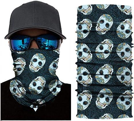 Motorrad Bandana Schlauchtuch Halstuch Tuch Kopftuch Schal Sturmhaube Stirnband