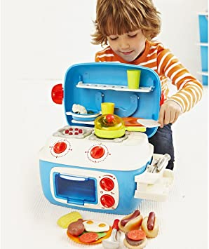 Early Learning Centre Turq Mini Sizzling Kitchen: Amazon.co