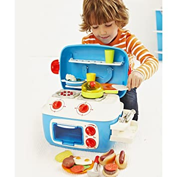 Early Learning Centre Turq Mini Sizzling Kitchen: Early Learning ...