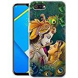 Fashionury Krishna 360 Degree Soft Silicone Designer Printed Full Protection Printed Back Case Cover for Realme C2