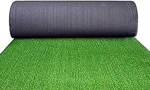 Alfombra Césped Verde Hierba sintética Moqueta Alfombras 10 mm Muebles Jardín Exterior: Amazon.es: Jardín