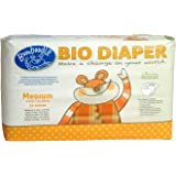 Bumboodle Natural Compostable Bio Diaper (Medium 11-20lbs/5-9kg 32-Count)