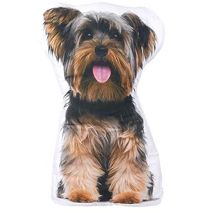 Cojín con forma de perro Yorkshire Terrier