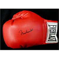 Muhammad Ali Hand Signed Autographed Red Everlast Boxing Glove OA 8414953 - Autographed Boxing Gloves photo