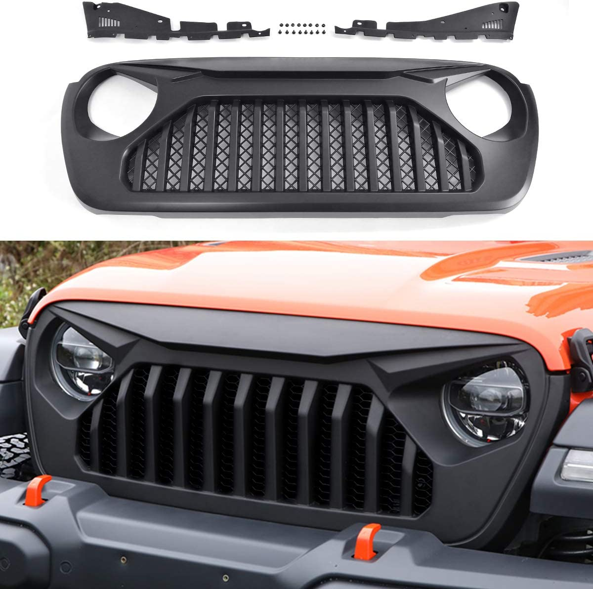 2019 Jeep Wrangler Angry Grill