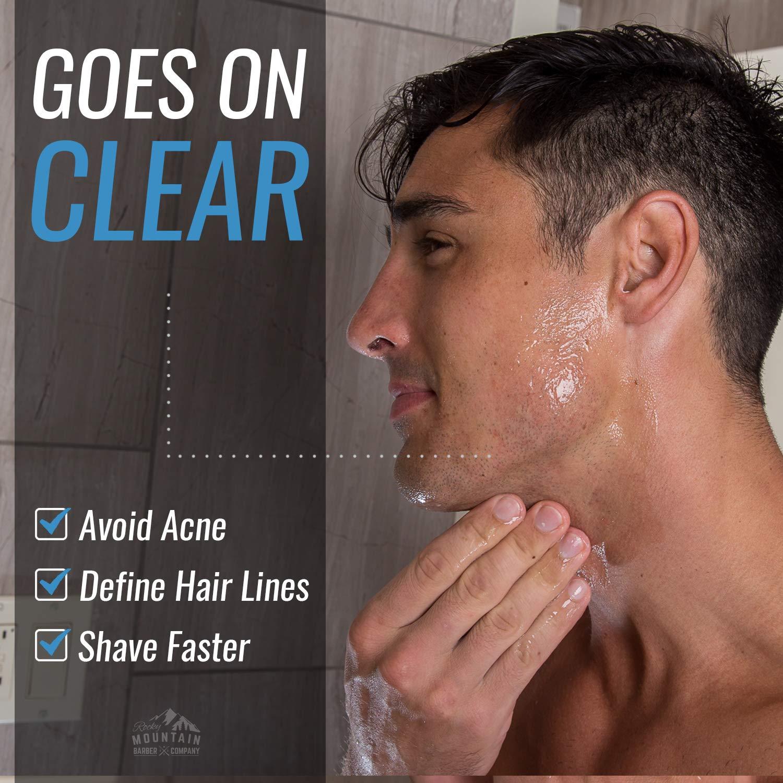 Amazon.com: Gel de afeitado para hombre, gel de afeitado ...
