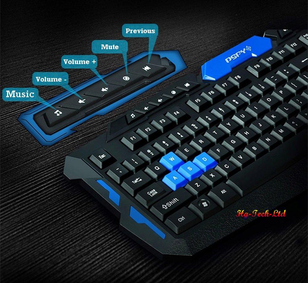 Rexus Warfaction Vr2 Keyboard Mouse Gaming Wireless Combo Wireles 2 In 1 Rx Bo V2 Keyboards Eagletec