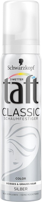 Schwarzkopf 3 Wetter Taft Classic Schaumfestiger Color Silber 5er