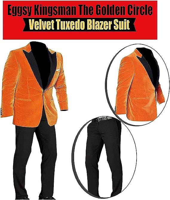 Amazon.com: NM Fashions Eggsy The Golden Circle Taron ...
