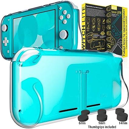 Funda para la Nintendo Switch Lite – Comfort Grip Case, Carcasa protectora con puños de mano rellenos integrados ...