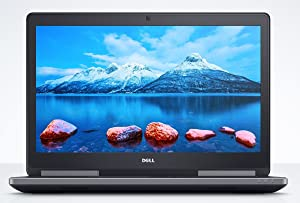 Newest Dell Precision 7520 FHD 15.6 Inch Workstation Business Laptop (Intel Quad Core i7-7820HQ, 32GB Ram, 1TB HDD + 512GB SSD, Thunderbolt 3) Nvidia Quadro M2200 4GB DDR5 (Renewed)