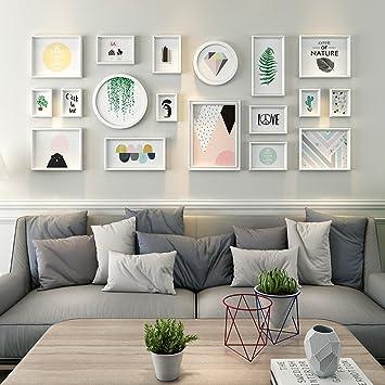 Home @ Wall Bilderrahmen Moderne Wohnzimmer Foto Wand Dekoration Rahmen  Wand Kombination Wand Kreative Kleine Neue