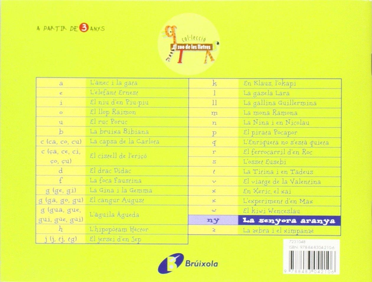 La senyora aranya ny : Juga amb la ny Catalá - A Partir De 3 Anys - Llibres Didàctics - Zoo De Les Lletres: Amazon.es: Beatriz Doumerc, Tría 3, ...