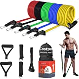 Costzon Resistance Bands Set 11 Pack, Exercise...