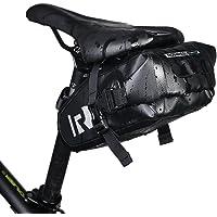 Bolsa para sillín de bicicleta, XPhonew impermeable bolsa de bicicleta sillín de bicicleta alforja paquete bolsa de almacenamiento funda de sillín de bicicleta, equitación bolsa de ciclismo ajustable