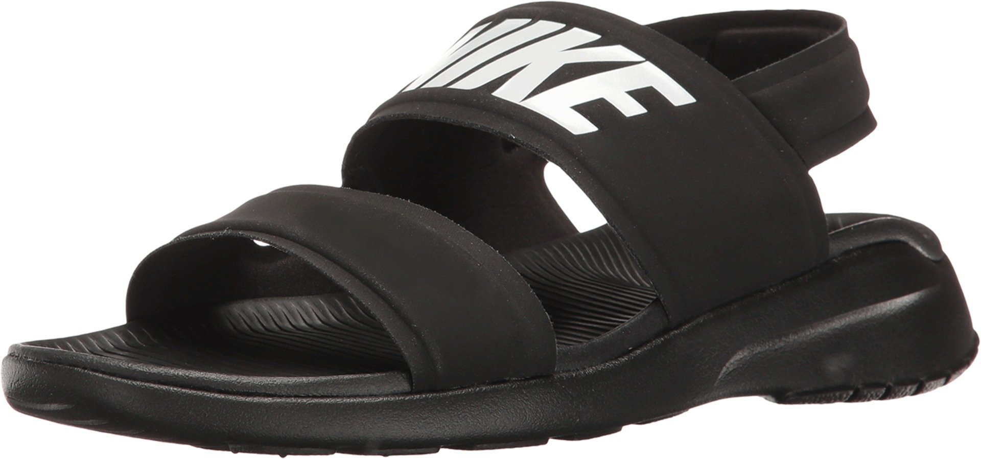 Nike Tanjun Womens Sandal Black/White/Black 882694-001 (8 B(M) US) by Nike