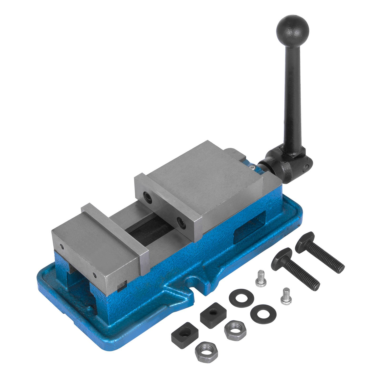 OrangeA Bench Clamp Vise High Precision Clamping Vise 3 Inch Jaw Width Accu-lock Vise Hardened Metal Milling Machine