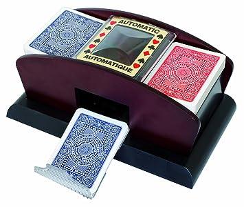 Modiano - Barajador de Cartas automático (imitación Madera ...