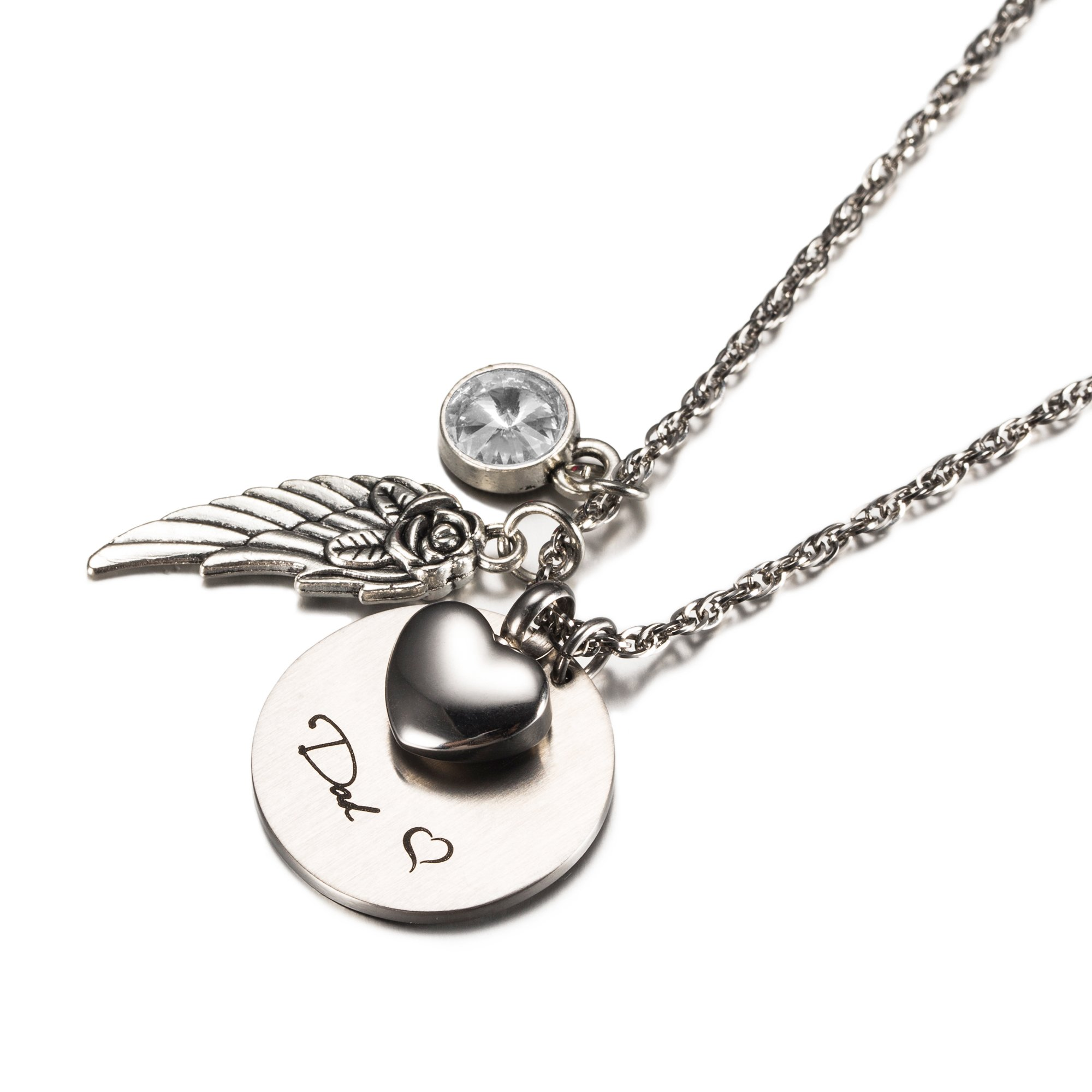 Cremation Jewelry For Ashes Urn Necklaces Memorial Gifts Buy Online In Bahamas Cheku Products In Bahamas See Prices Reviews And Free Delivery Over Bsd80 Desertcart