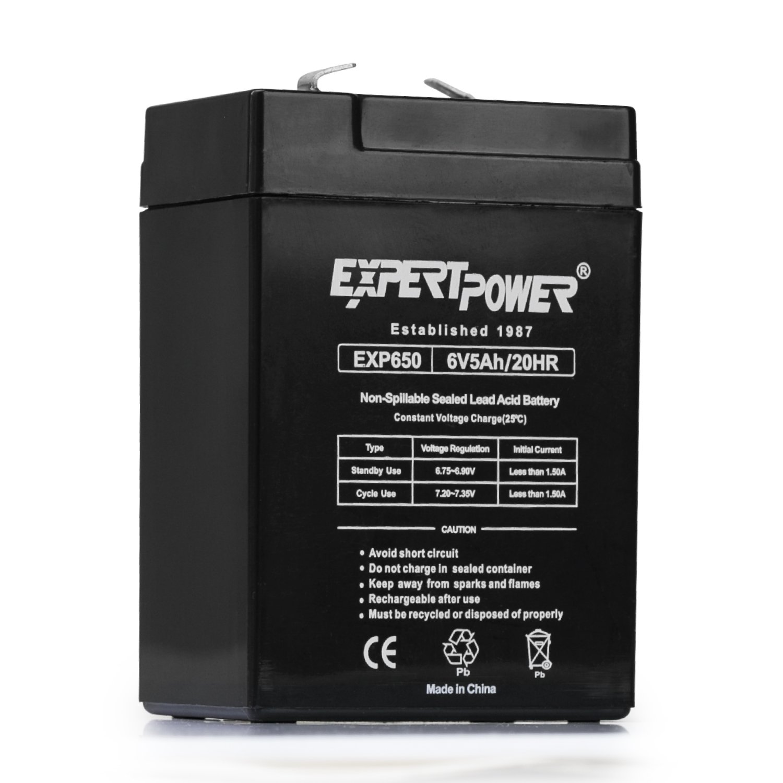 6V 5Ah SLA Rechargeable Battery