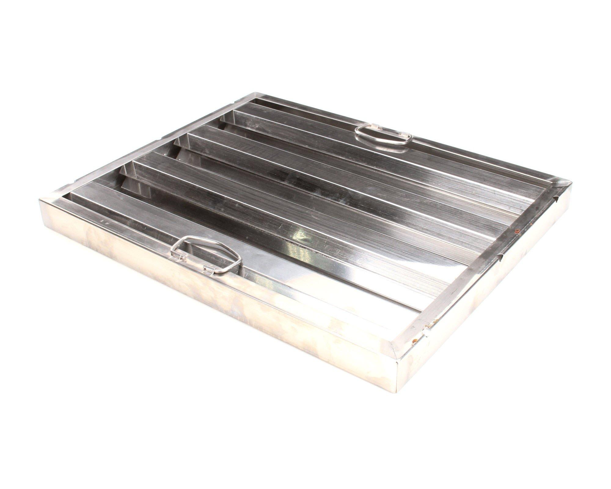 Update International HF-1620 S/S Hood Filter 16in Wx20in H