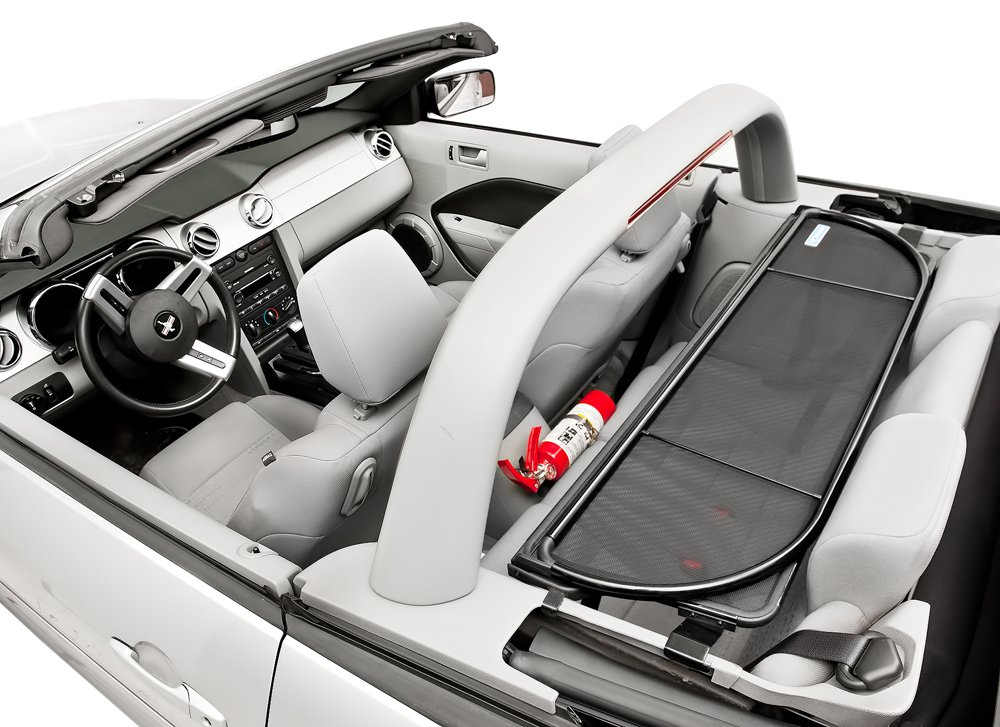 2005-2014 Mustang Convertible Love The Drive Wind Deflector Screen For Vehicle With Light//Style Bar