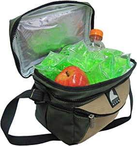 Icy Cools Green Reusable Ice Cubes for Coolers, Lunchboxes and More!