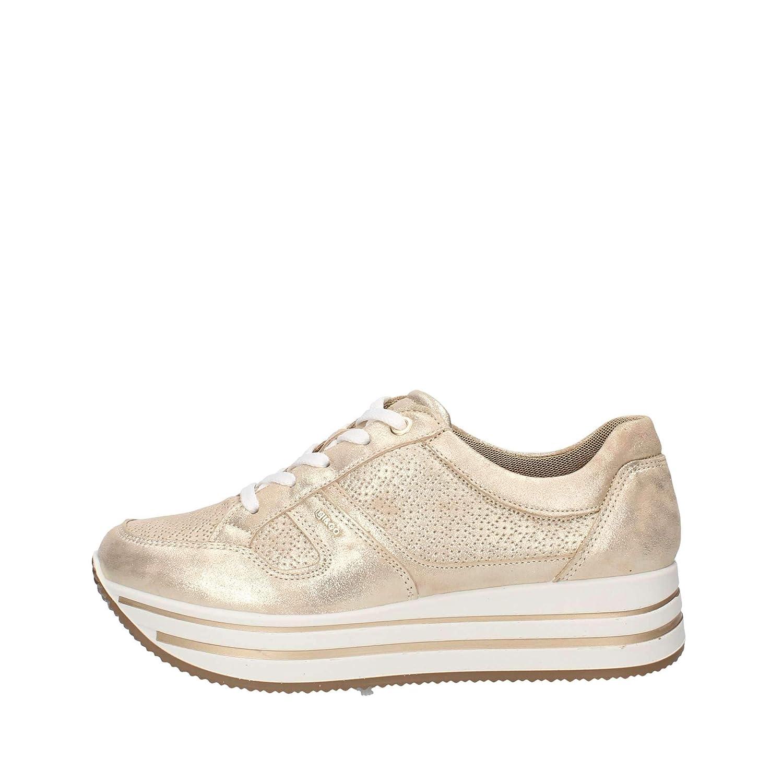 buy online 86670 b4fe3 Amazon.com | IGI&CO Shoes Woman Sneakers with Platform ...