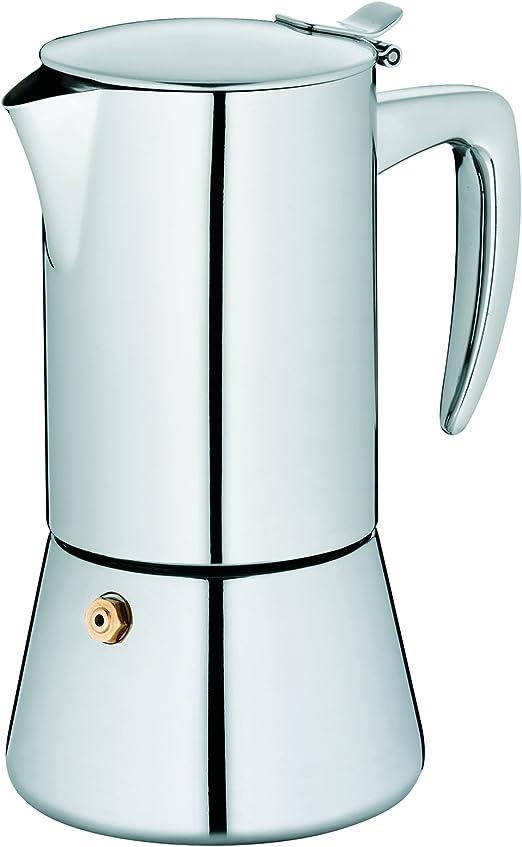 Kela 10835 Latina - Cafetera (acero inoxidable, para inducción ...