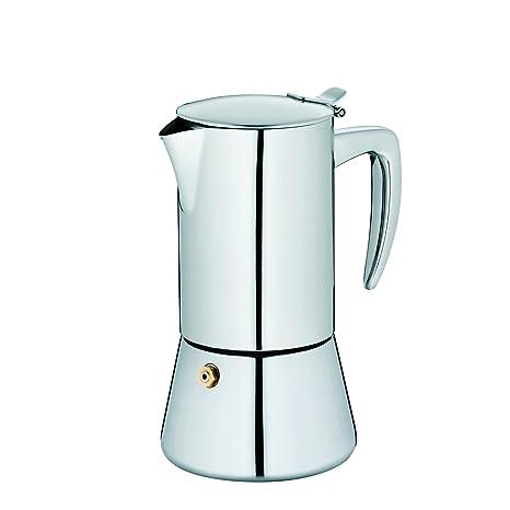 Kela 10835 Latina - Cafetera (acero inoxidable, para ...