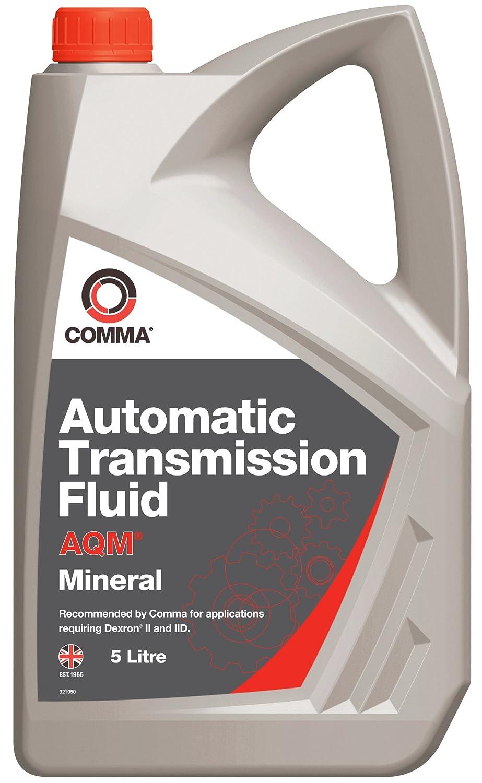 Comma ATM5L 5L AQM Automatic Transmission Fluid Comma Oil & Chemicals Ltd.