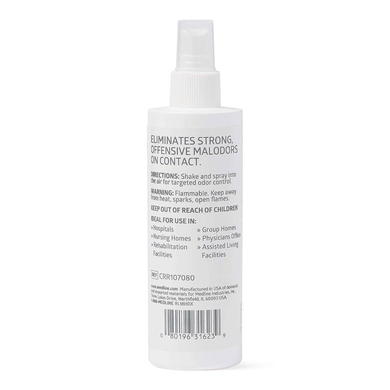 Medline CRR107080 Carrascent Fresh Odor Eliminator (Scented), 8 oz  Bottle