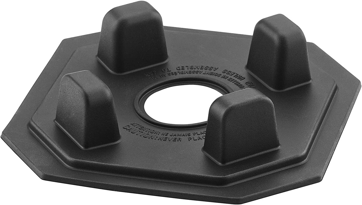 Waring Commercial CAC146 Jar Pad For Torq Series Blenders, Black