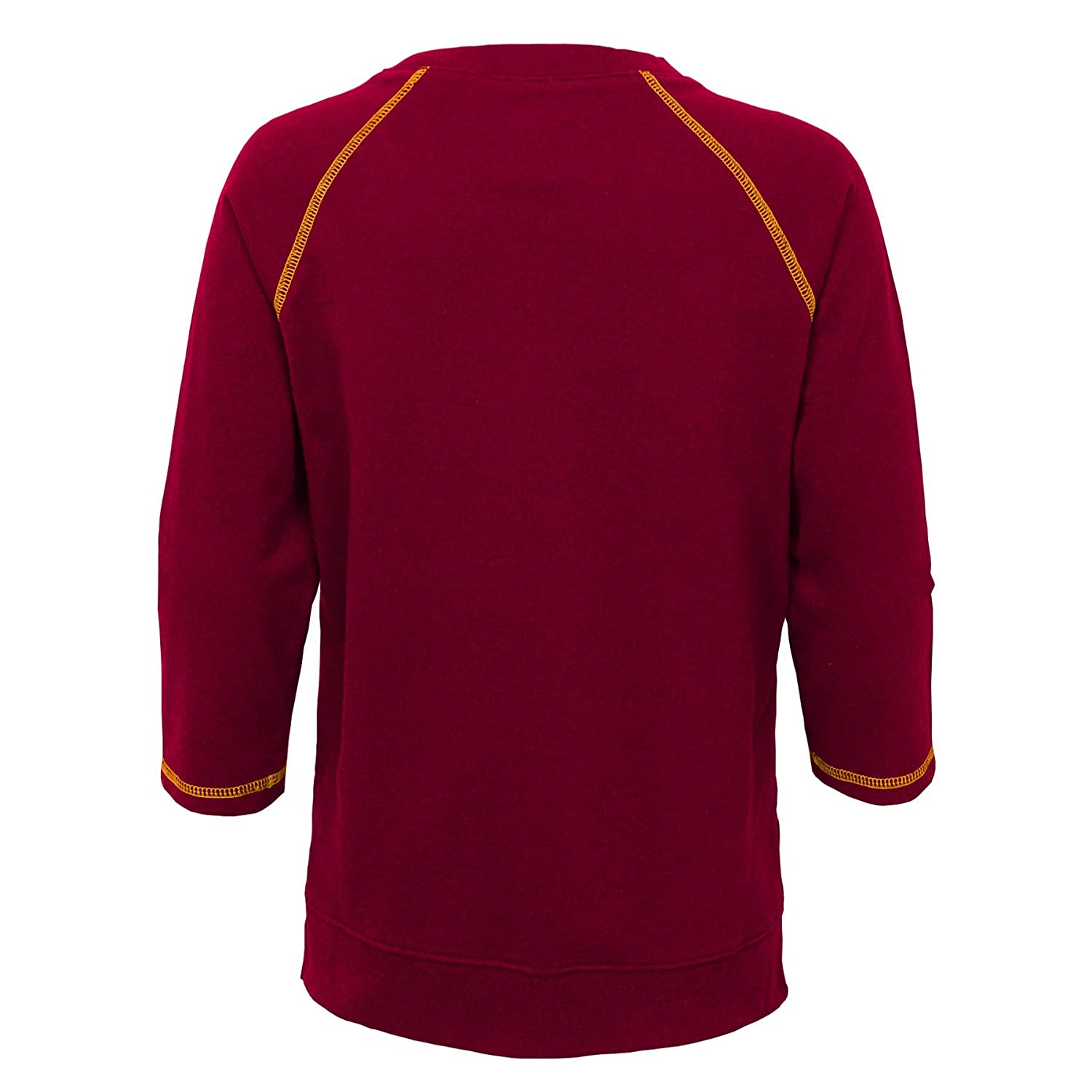 14 Youth Large NFL Washington Redskins Youth Boys Overthrow Pullover Top Burgundy