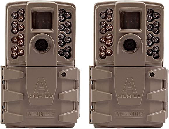Moultrie 2017 A 30 Game Camera All Purpose Series 0.7s Trigger Speed Mobile Compatible A-30 2017 Game Camera 2 Pack