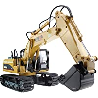 Excavator RC Toy 15-Channel Full-Function RC Excavator Sand Engineering Vehicle 1:14 2.4Ghz With Lighting and Sound…